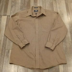 3/$25 Stafford Dress Shirt Size 16 1/2, 32/33